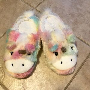 Shoes - Unicorn slippers teen size 6-8
